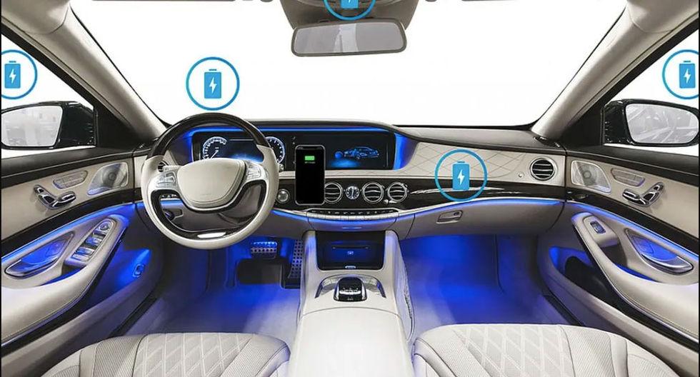 Ladda mobilen trådlöst överallt i bilen