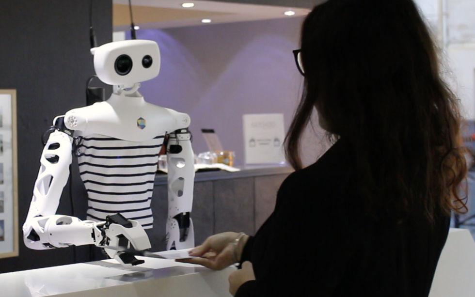 Roboten Reachy går att programmera själv
