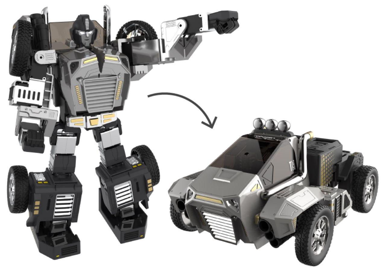 Transformers-robot visas upp på CES