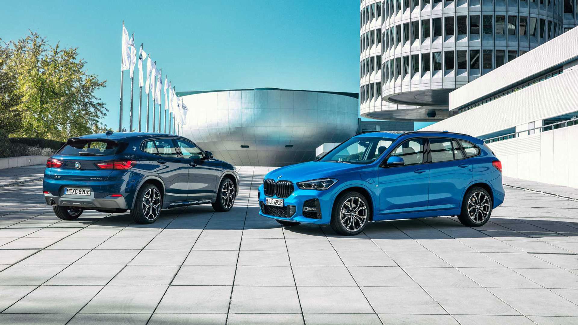 BMW X2 nu även som laddhybrid