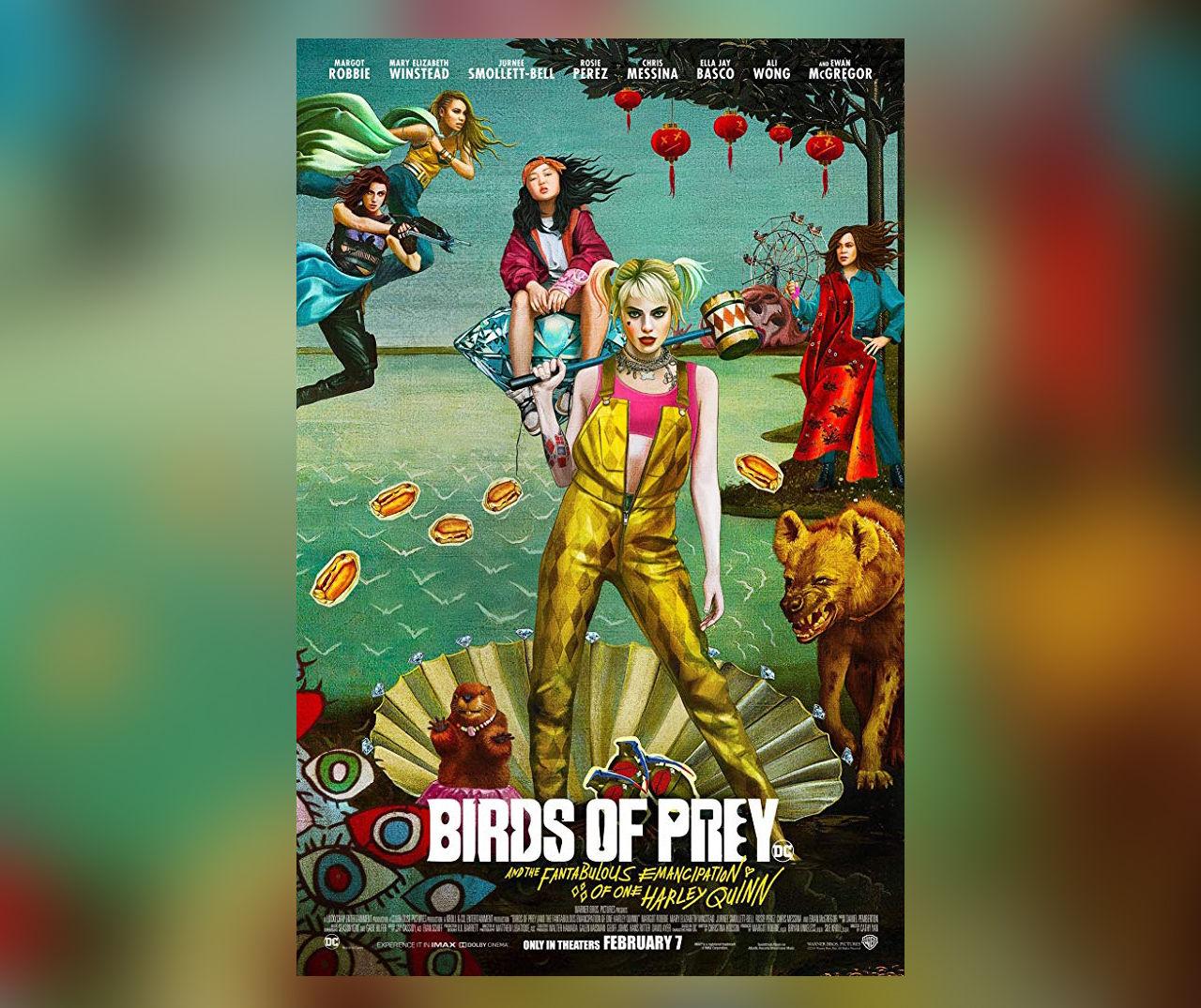 Här kommer sista trailern för Birds of Prey