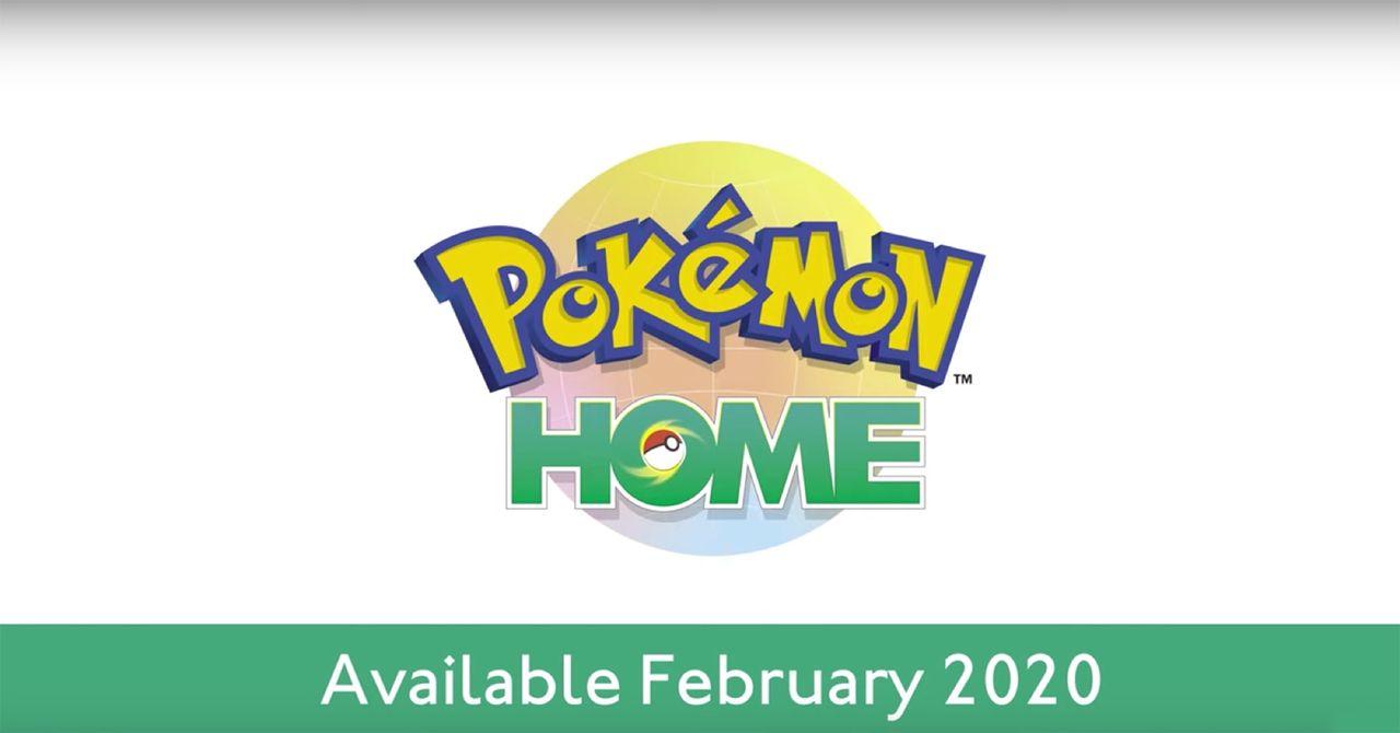 Nästa månad lanseras Pokémon Home