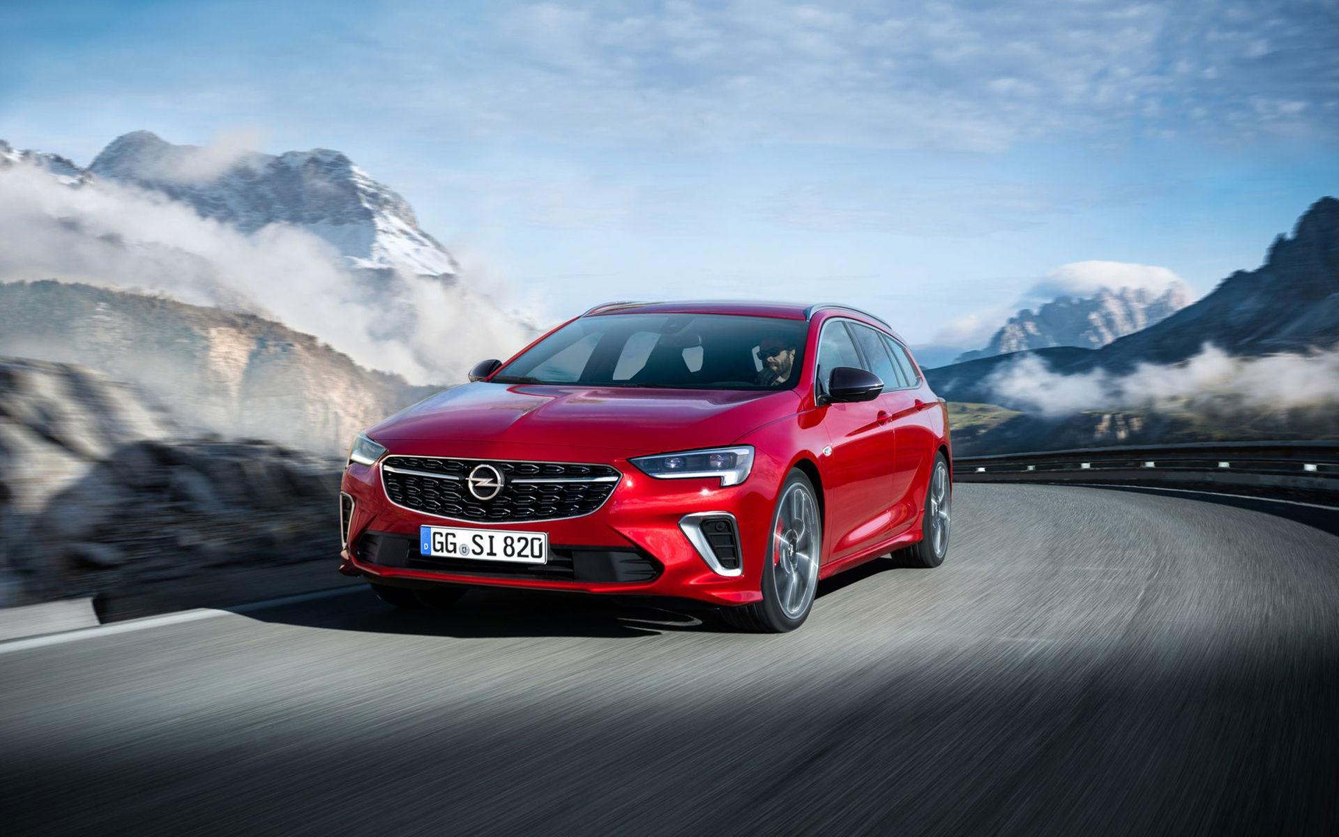 Opel Insignia GSi facelift är här