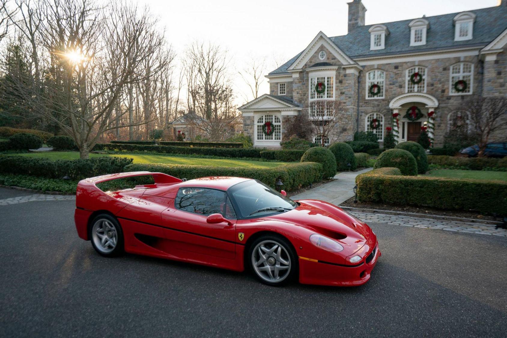 Buda hem en unik Ferrari F50