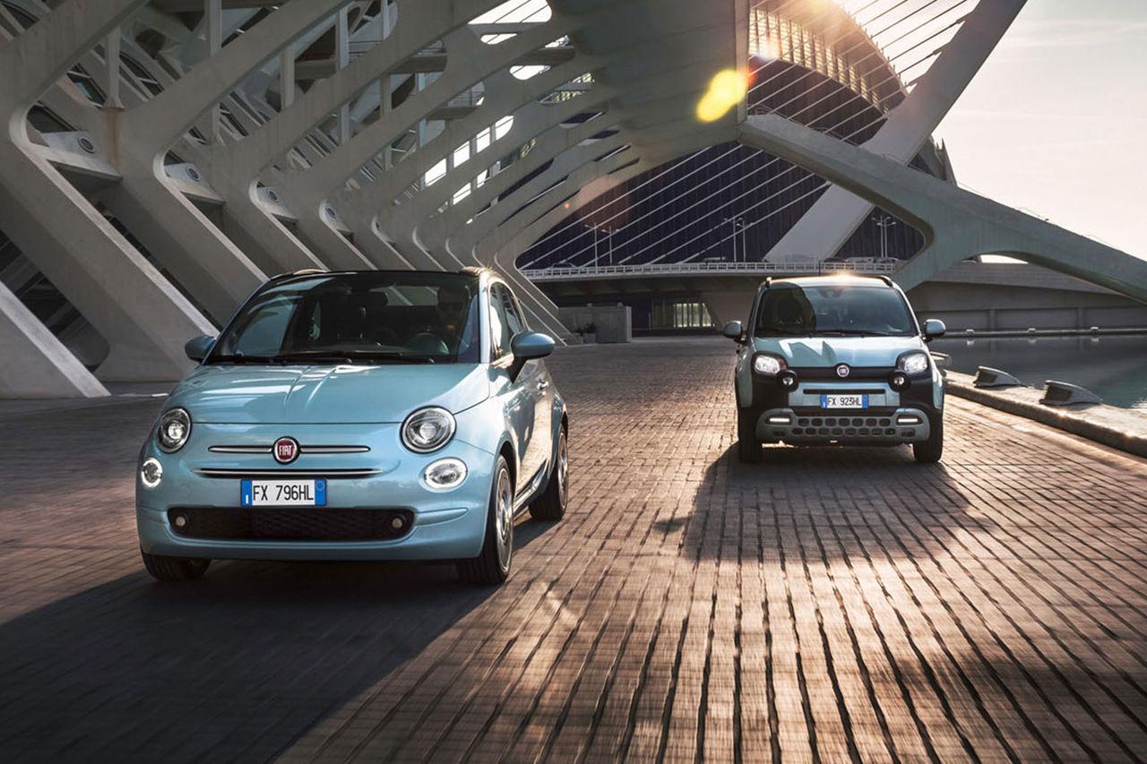 500 och Panda blir Fiats första elektrifierade modeller