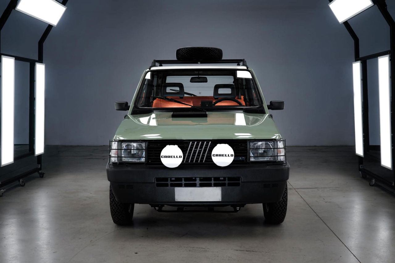 Klassisk Fiat Panda uppdaterad med eldrift