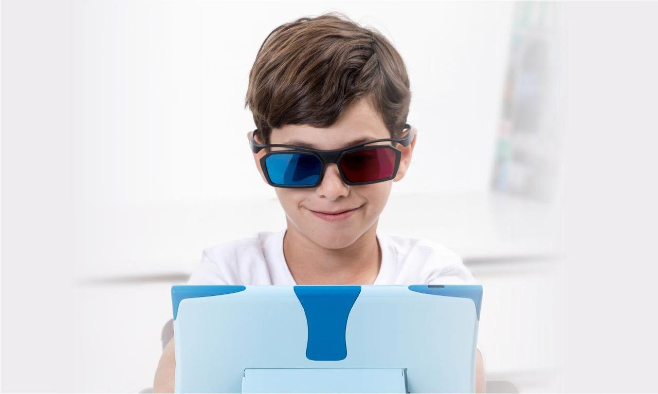 Glasögon och tv-tittning kan fixa skelning