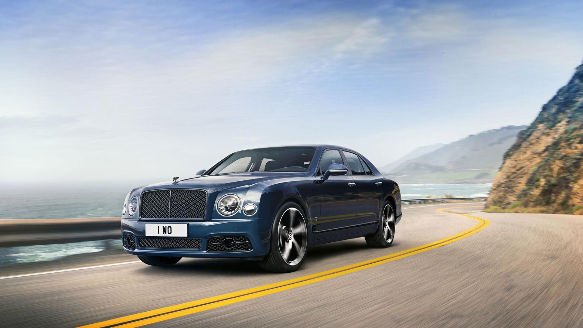 Bentley säger farväl till den ikoniska V8:an