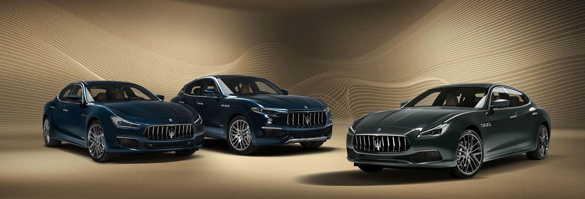 Maseratis modeller får Royale-versioner