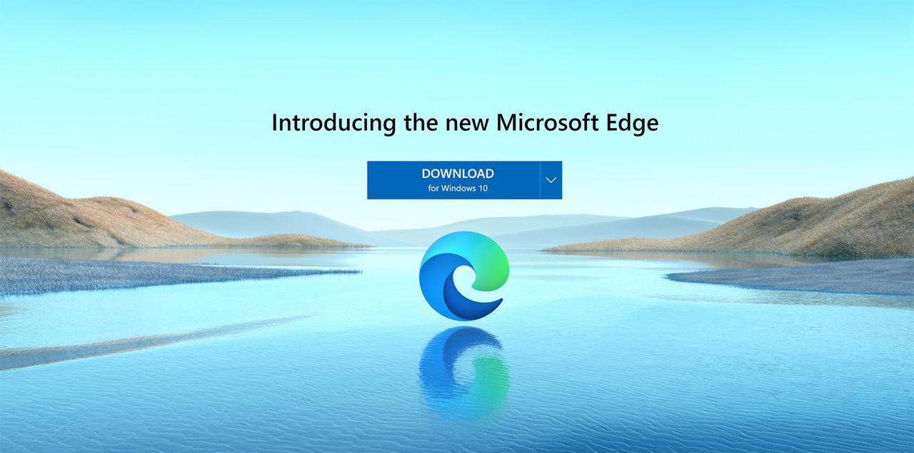 Nu kan du ladda ner nya Microsoft Edge manuellt