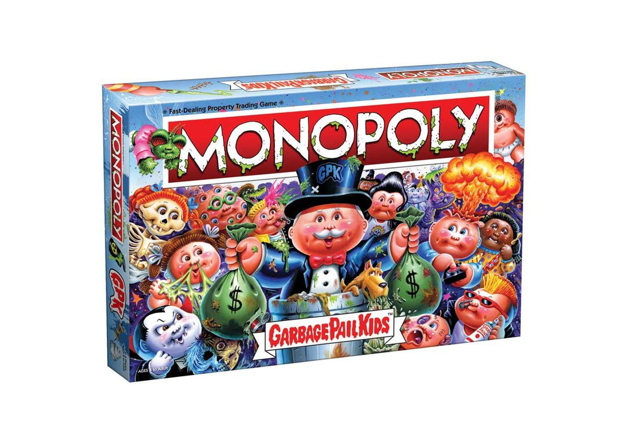 Garbage Pail Kids-monopol på gång