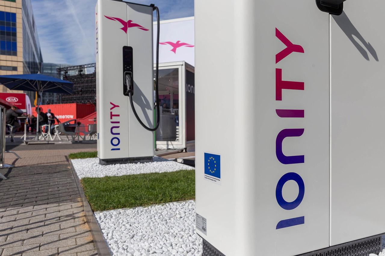 Ionity höjer priset för att ladda elbil