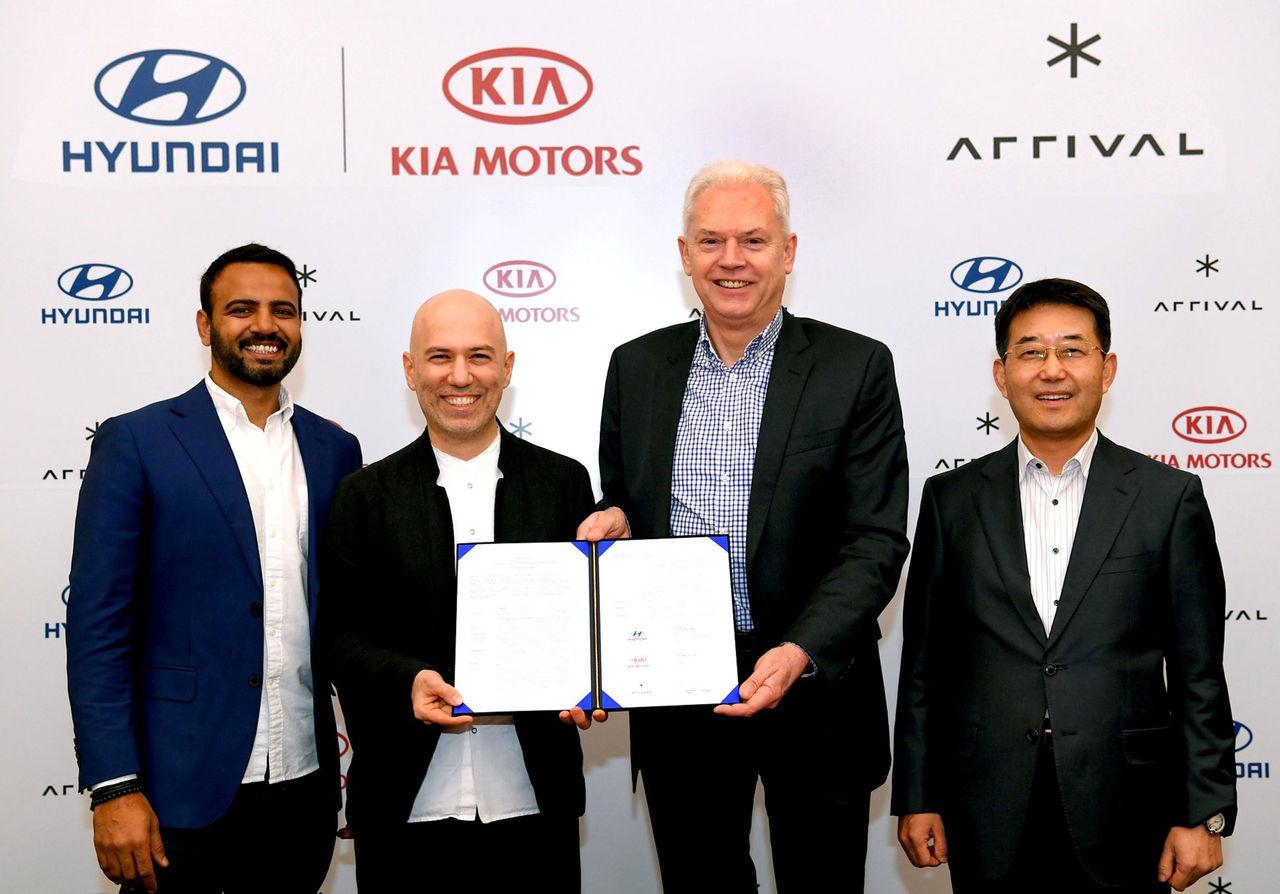 Hyundai och Kia investerar 111 miljoner dollar i elbilstartup