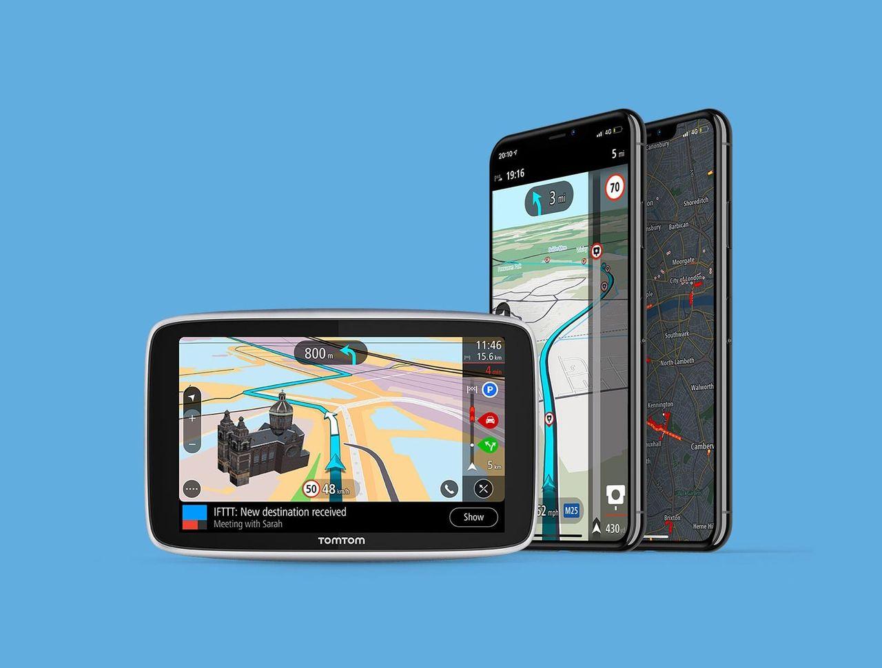 TomTom ska leverera navigering till Huawei