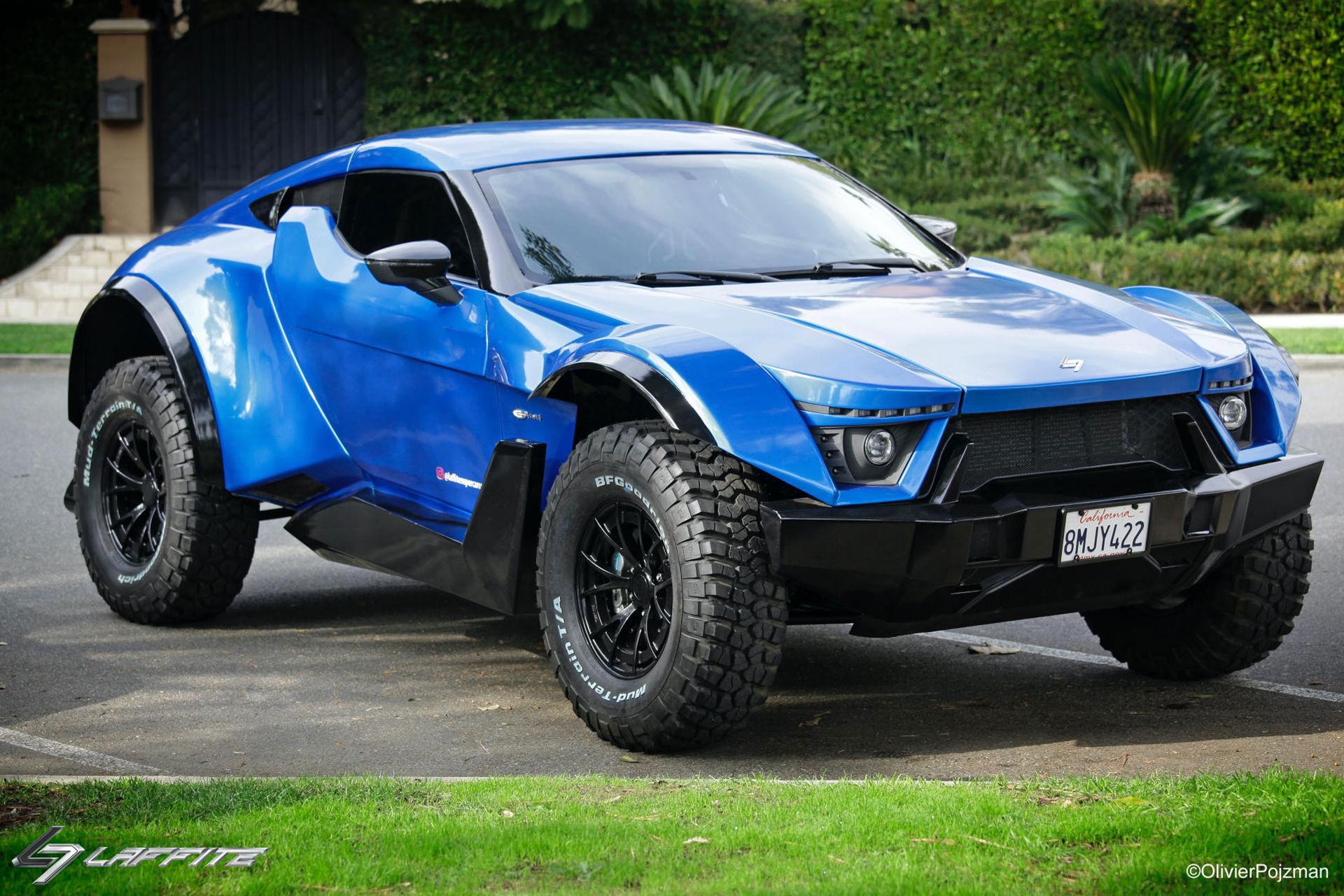 Laffite G-Tec X-Road - superbil som ska klara tuff terräng