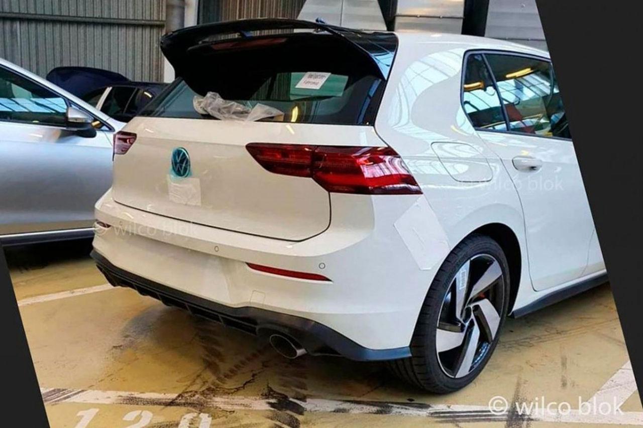 Baken på nya Volkswagen Golf GTI läcker ut
