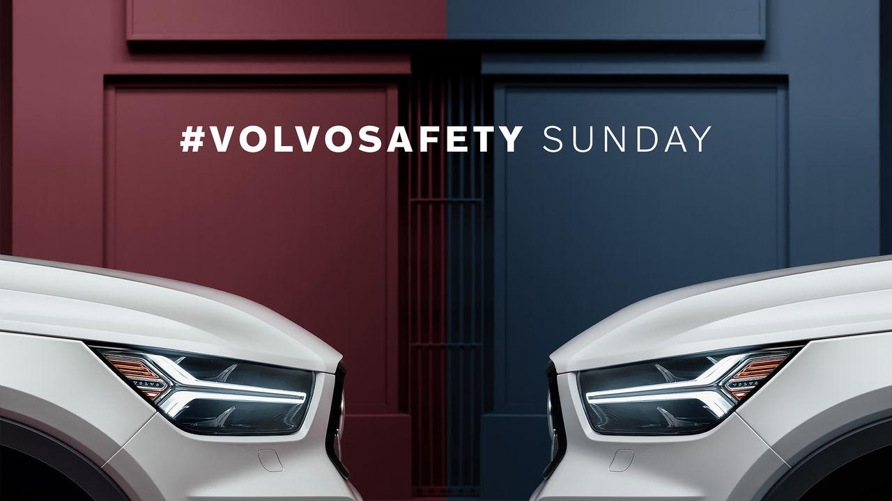 Volvo ger bort bilar om det blir en safety på söndag