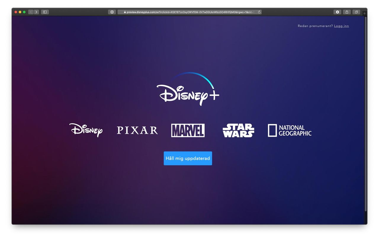 Disney+ kommer till Norden i sommar!