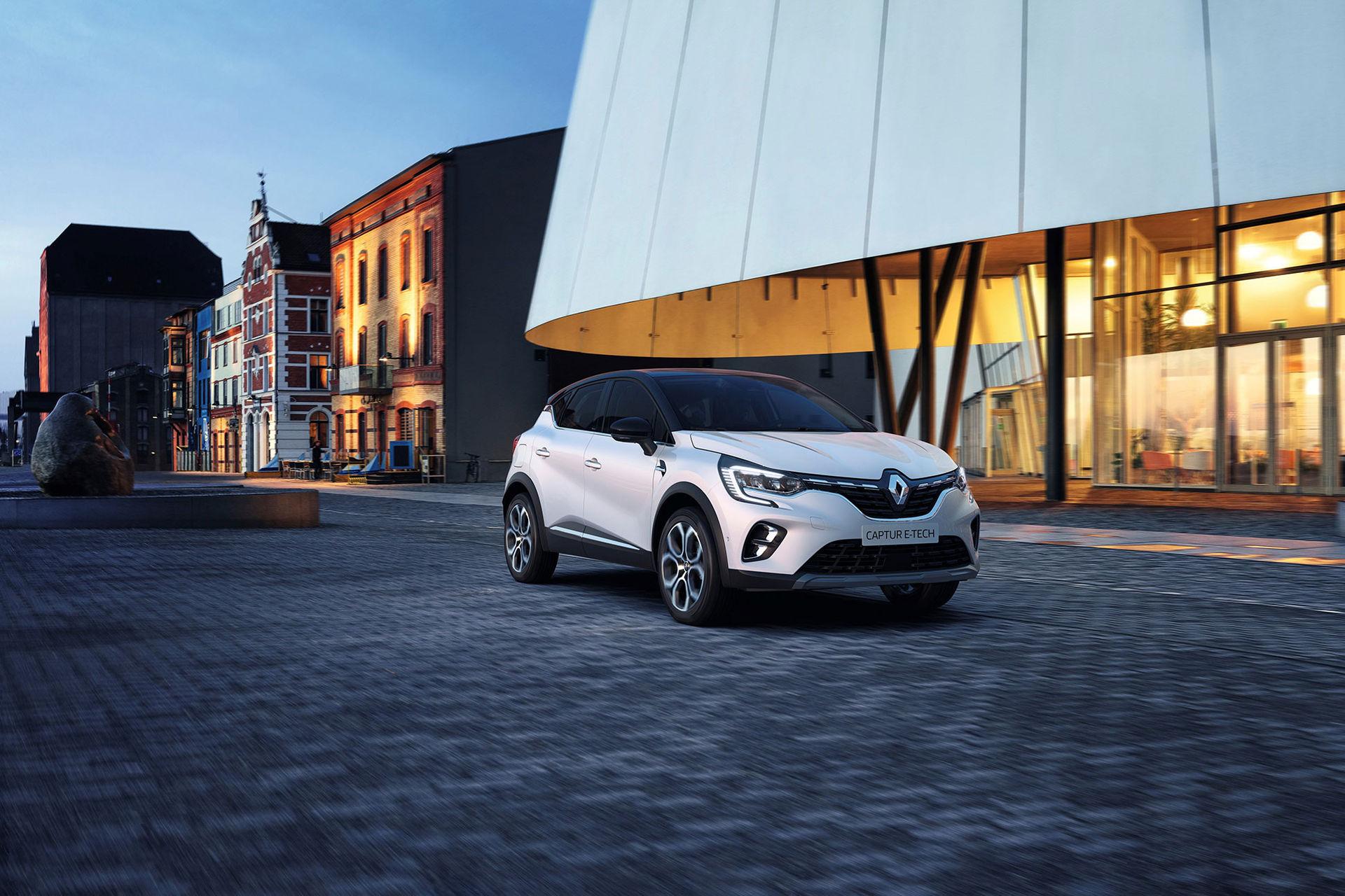 Nya Renault Captur blir din för 184.900 kronor
