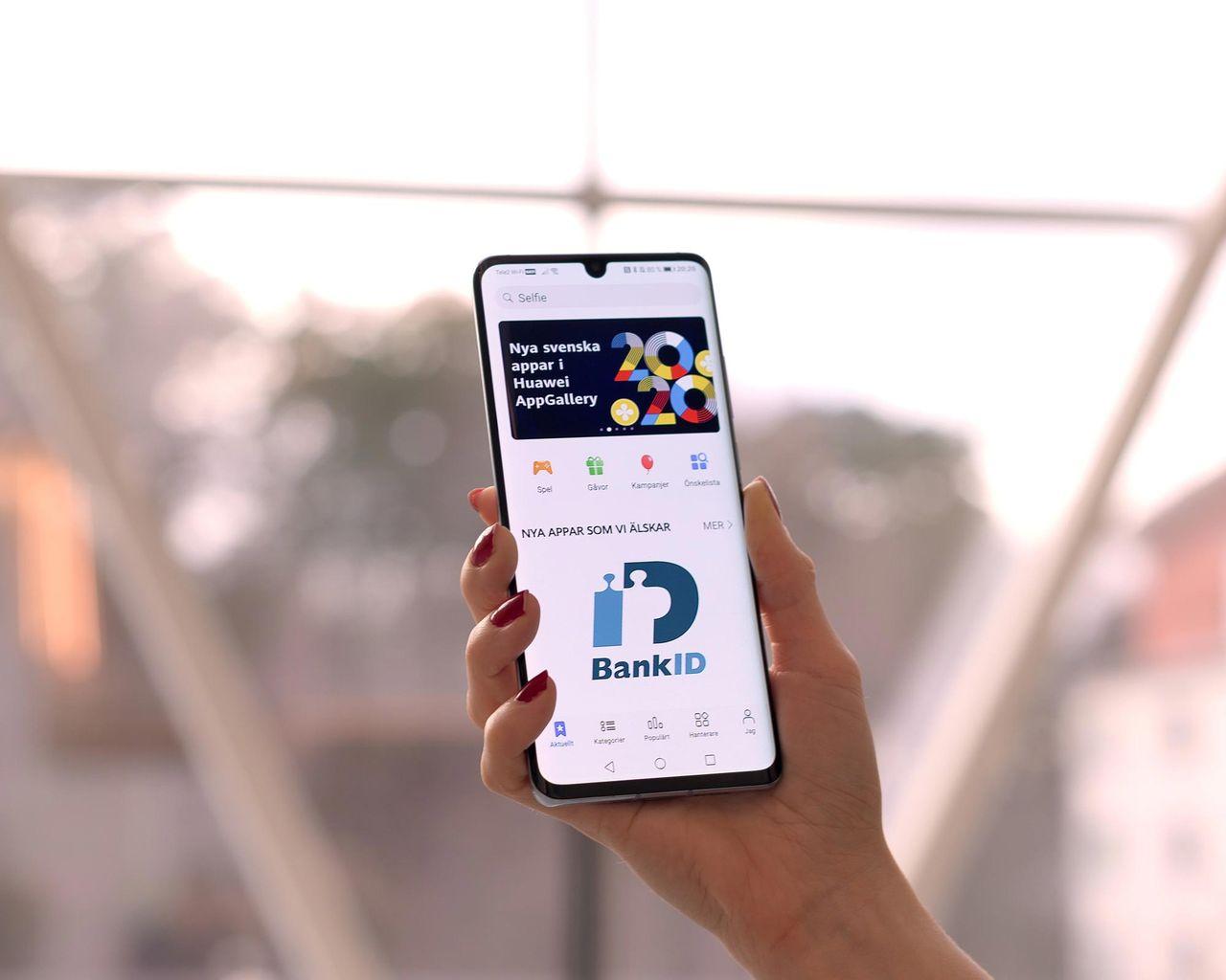 BankID på väg till Huaweis egna app-butik