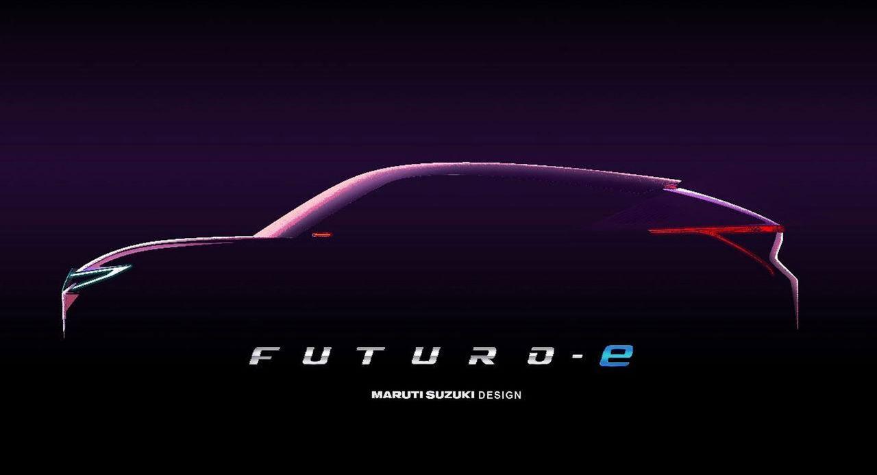 Maruti Suzuki visar Futuro-e på Auto Expo 2020