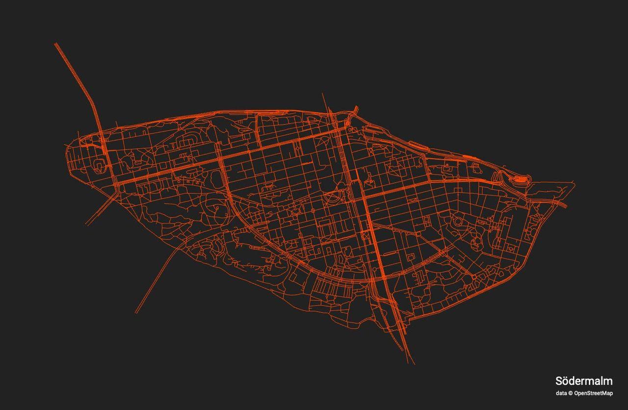 Fixa kartbild av din stad eller ditt område