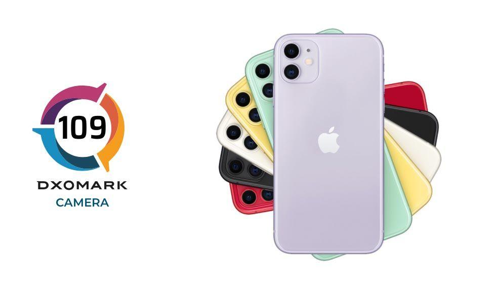 DXOmark testar iPhone 11