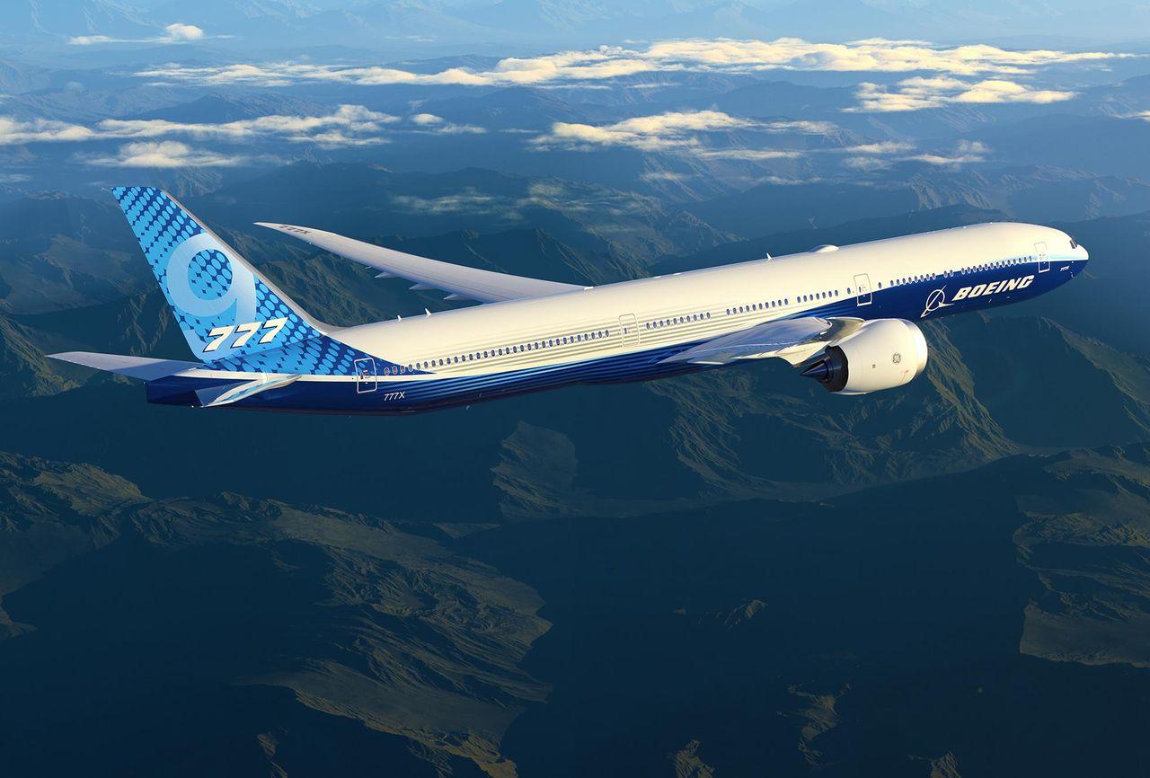 Boeing har testflugit 777X
