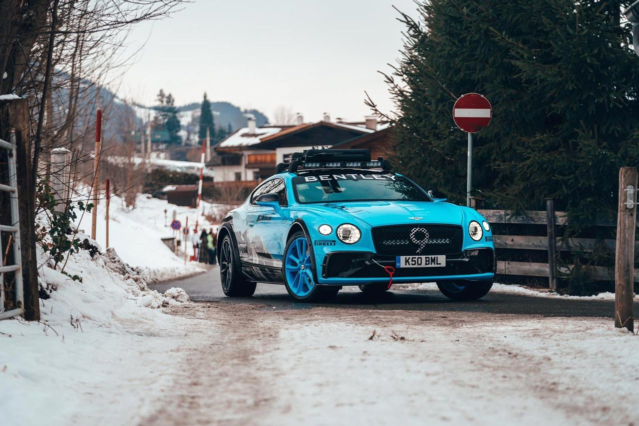 Bentley kommer visa upp hård version av Continental GT
