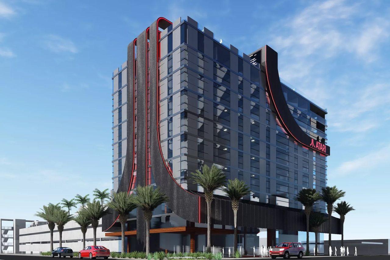 Atari börjar göra hotell