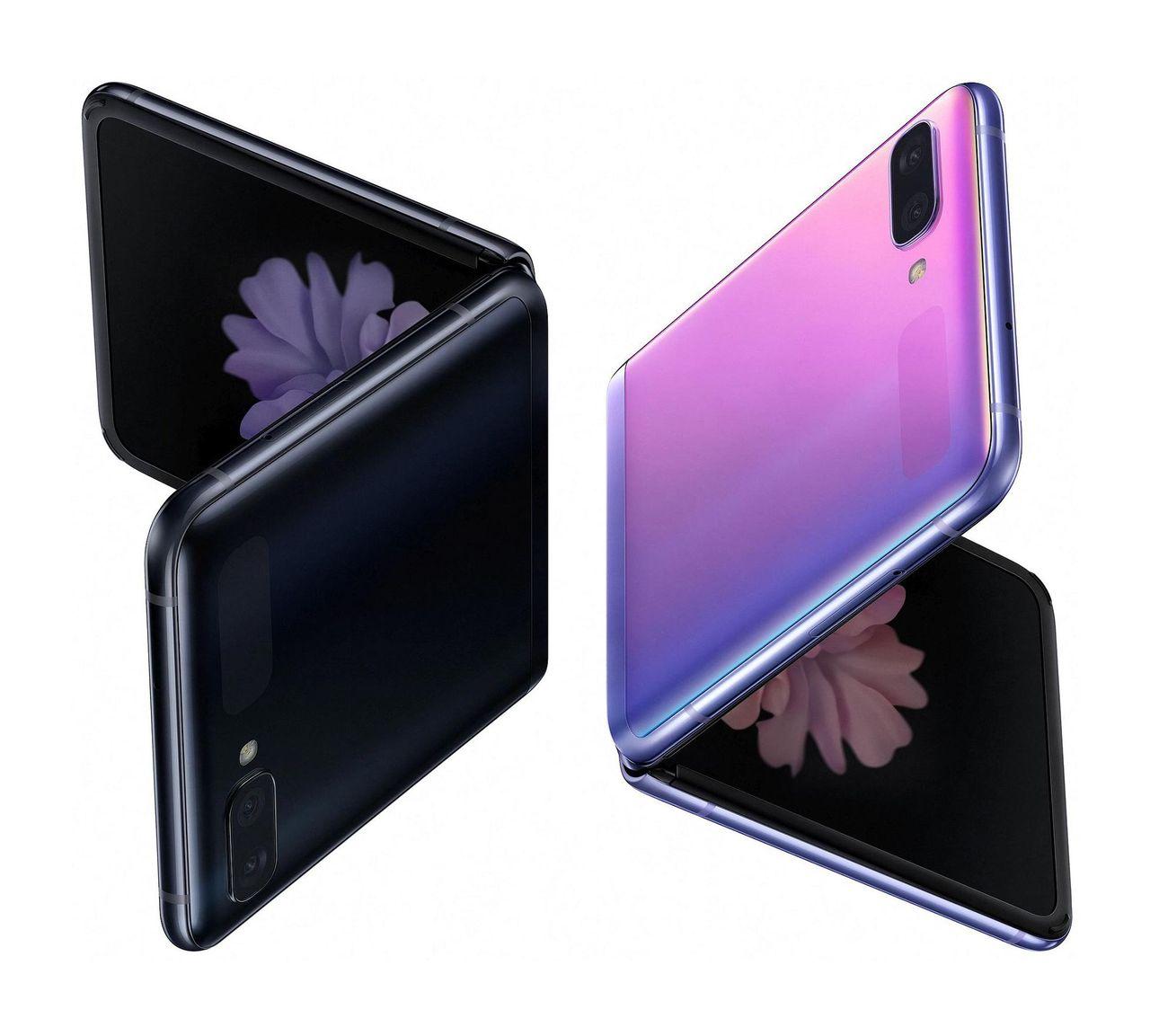 Bild på Samsungs vikbara Galaxy Z Flip läcker