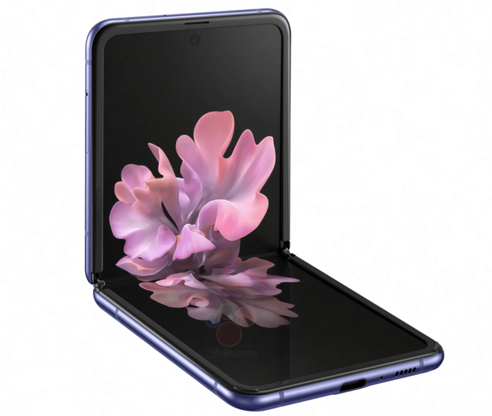 Bildfrossa och specifikationer för Samsung Galaxy Z Flip!