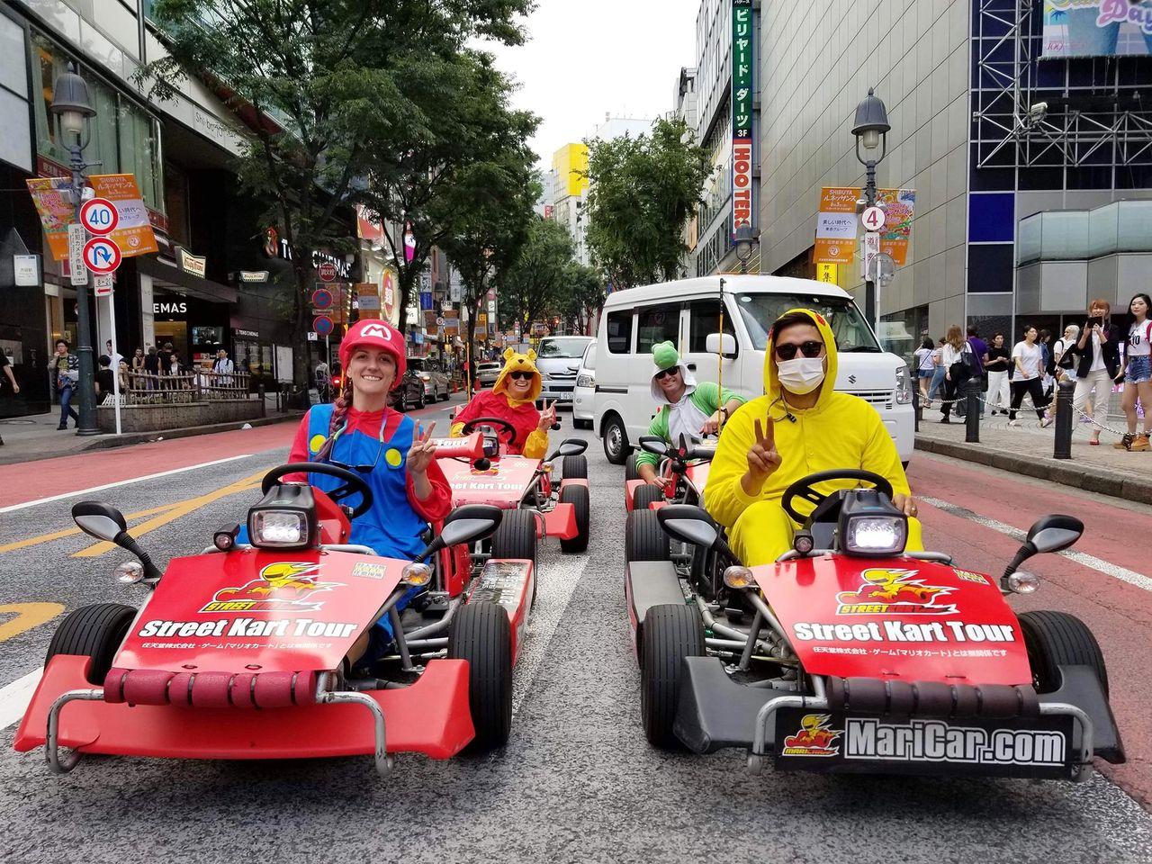 Nu är det kanske slut på roliga gokarts i Tokyo