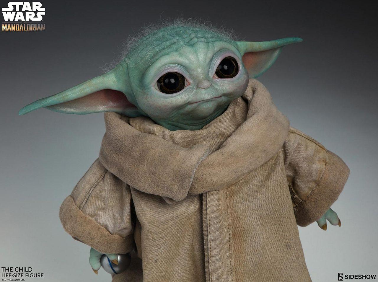 Snart kan du skaffa en Baby Yoda i naturlig storlek