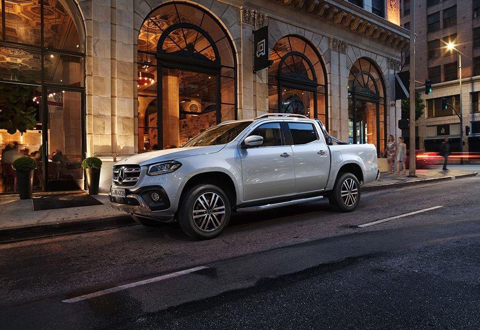 Mercedes lägger ner X-klass