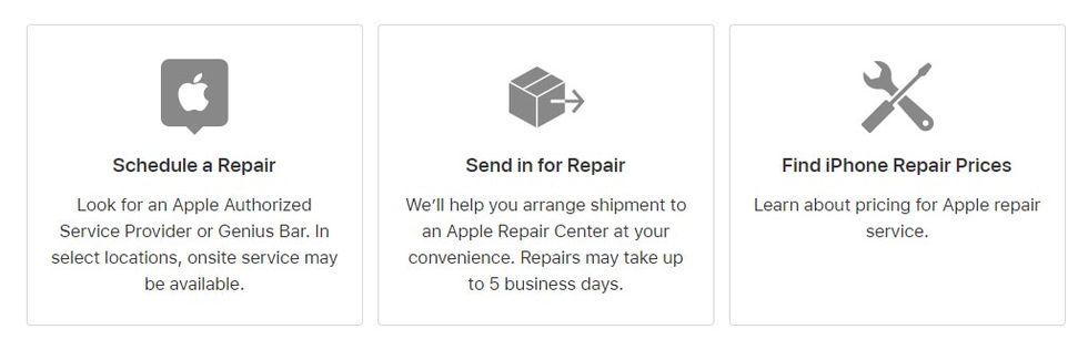 Få din iPhone reparerad hemma eller på kontoret