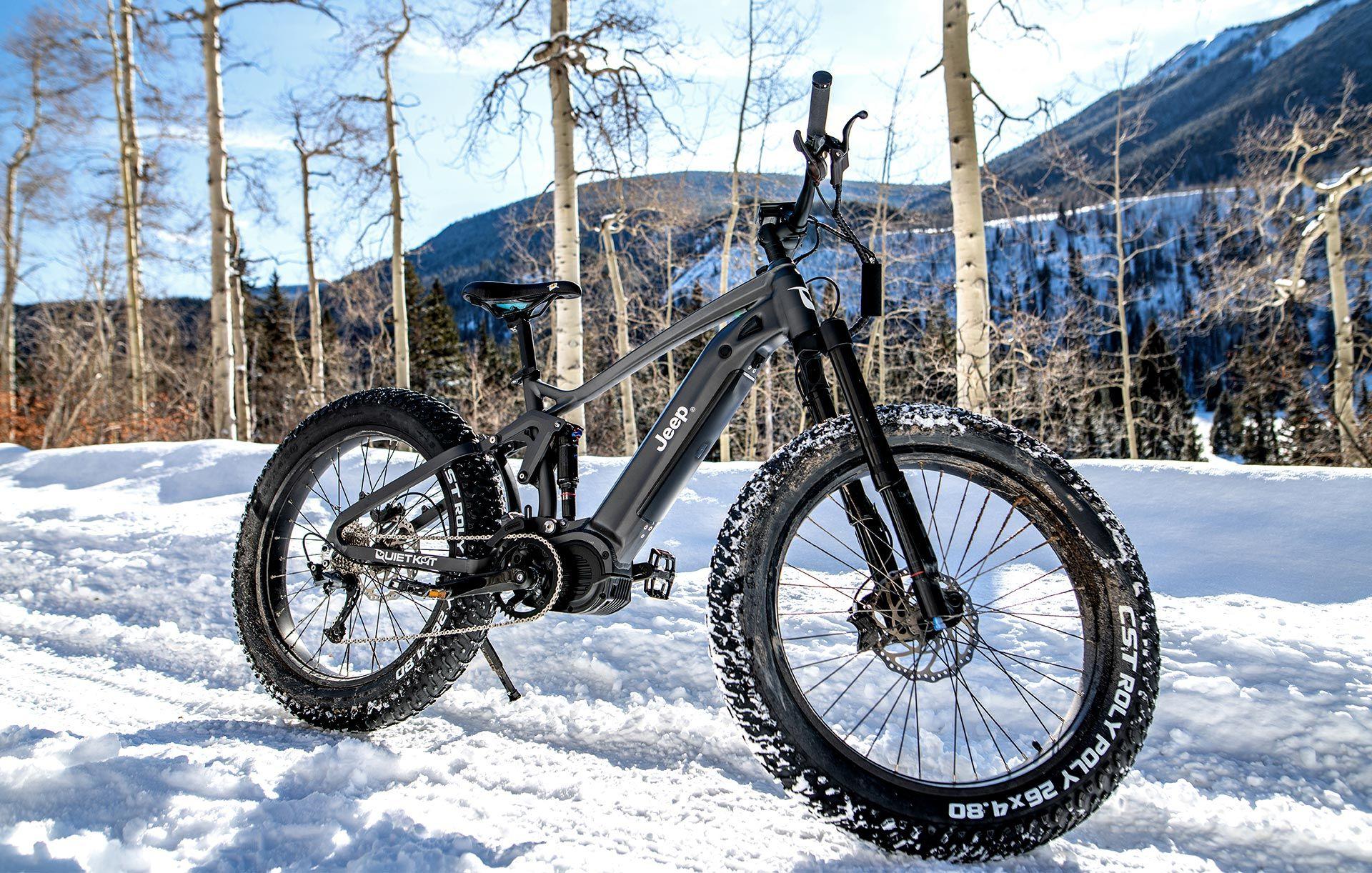Jeep visar upp eldriven mountainbike