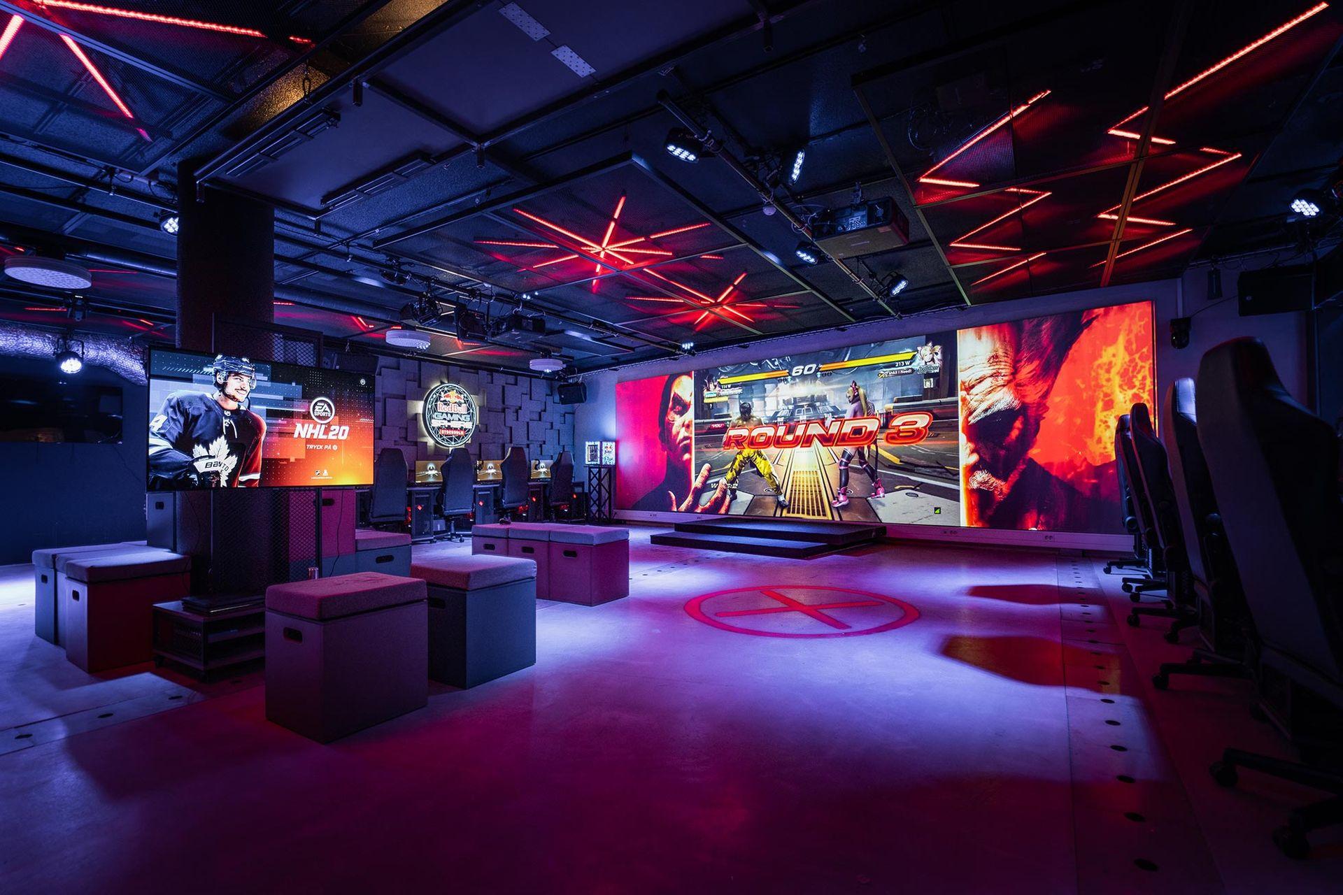 Inferno Online öppnar esportarena med Red Bull