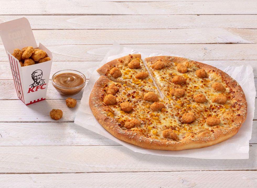 KFC och Pizza Hut gör gemensam sak