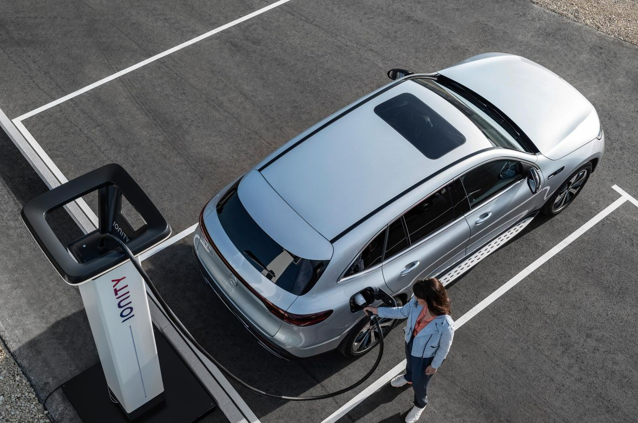 Nu är laddpriserna för Mercedes-Benz hos Ionity klara
