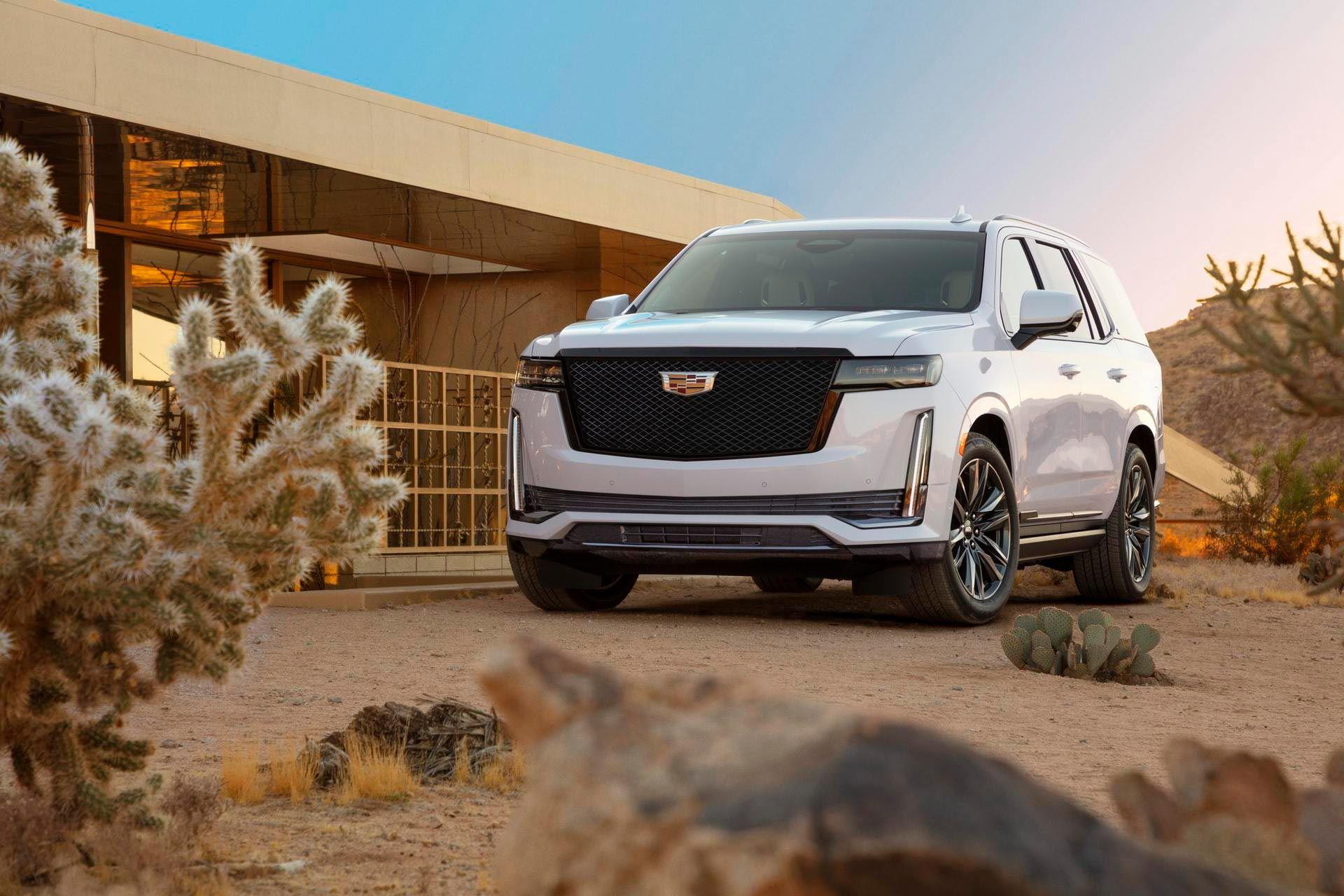 Här är nya Cadillac Escalade
