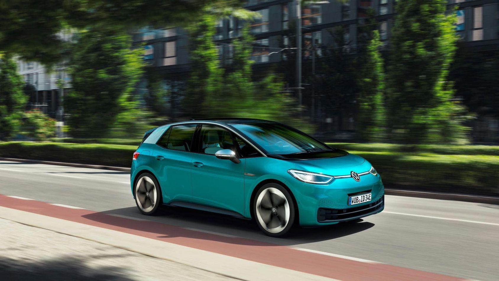 Volkswagens släpper prislappen på sin elbil ID.3