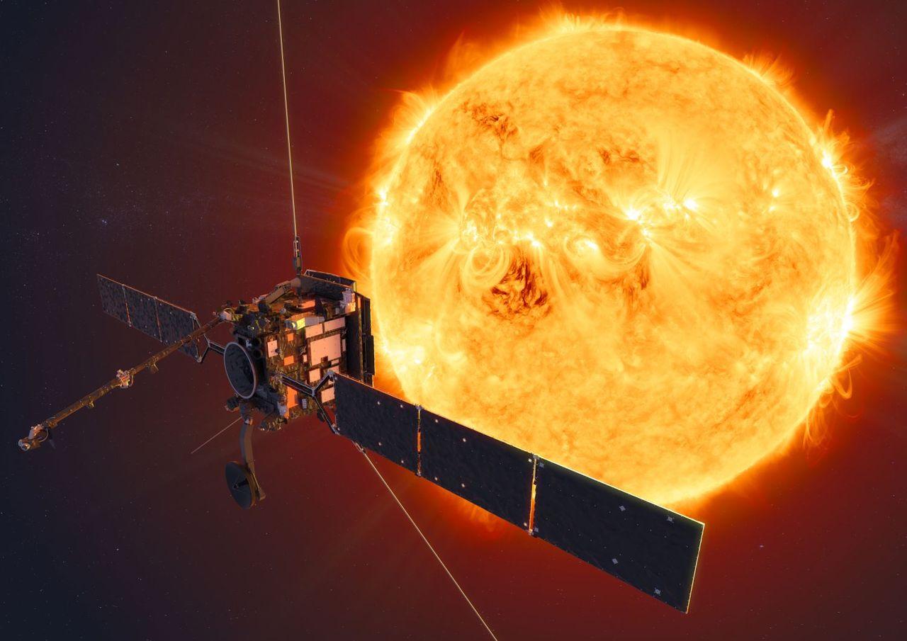 Nu är Solar Orbiter på väg till solen