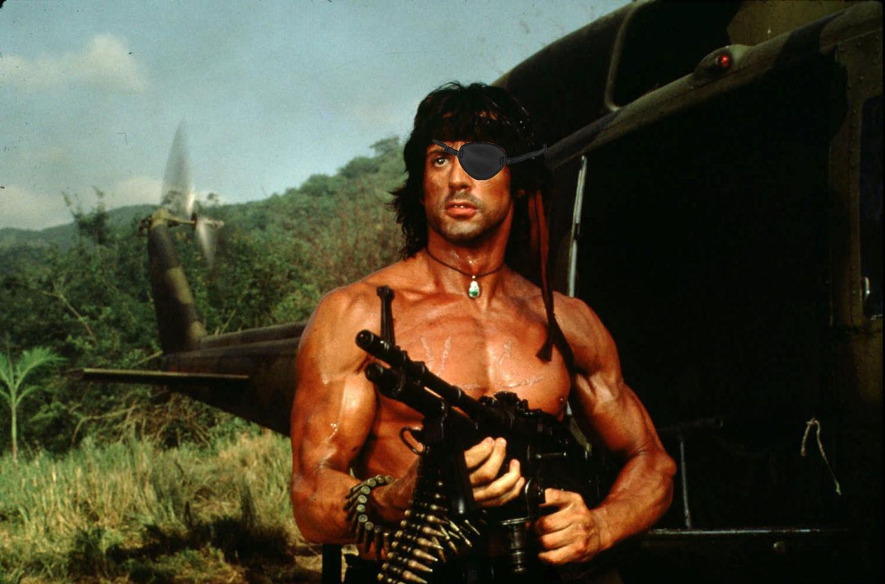 Sylvester Stallone gör scifi-rullen Little America