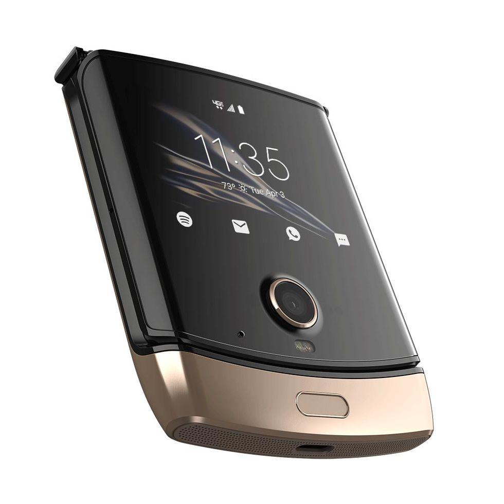 Motorola bekräftar att guldig Razr är på ingång