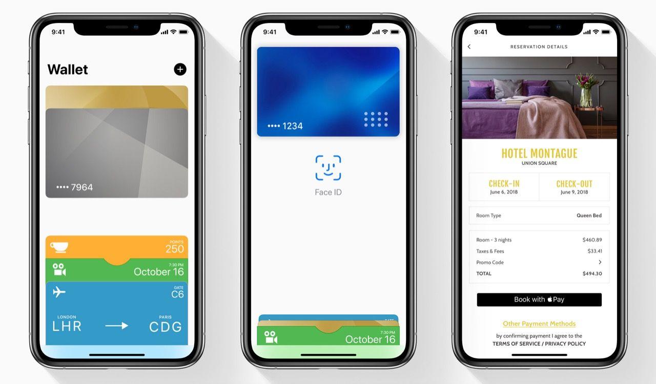 Apple Pay sägs stå för 5 procent av världens kortbetalningar