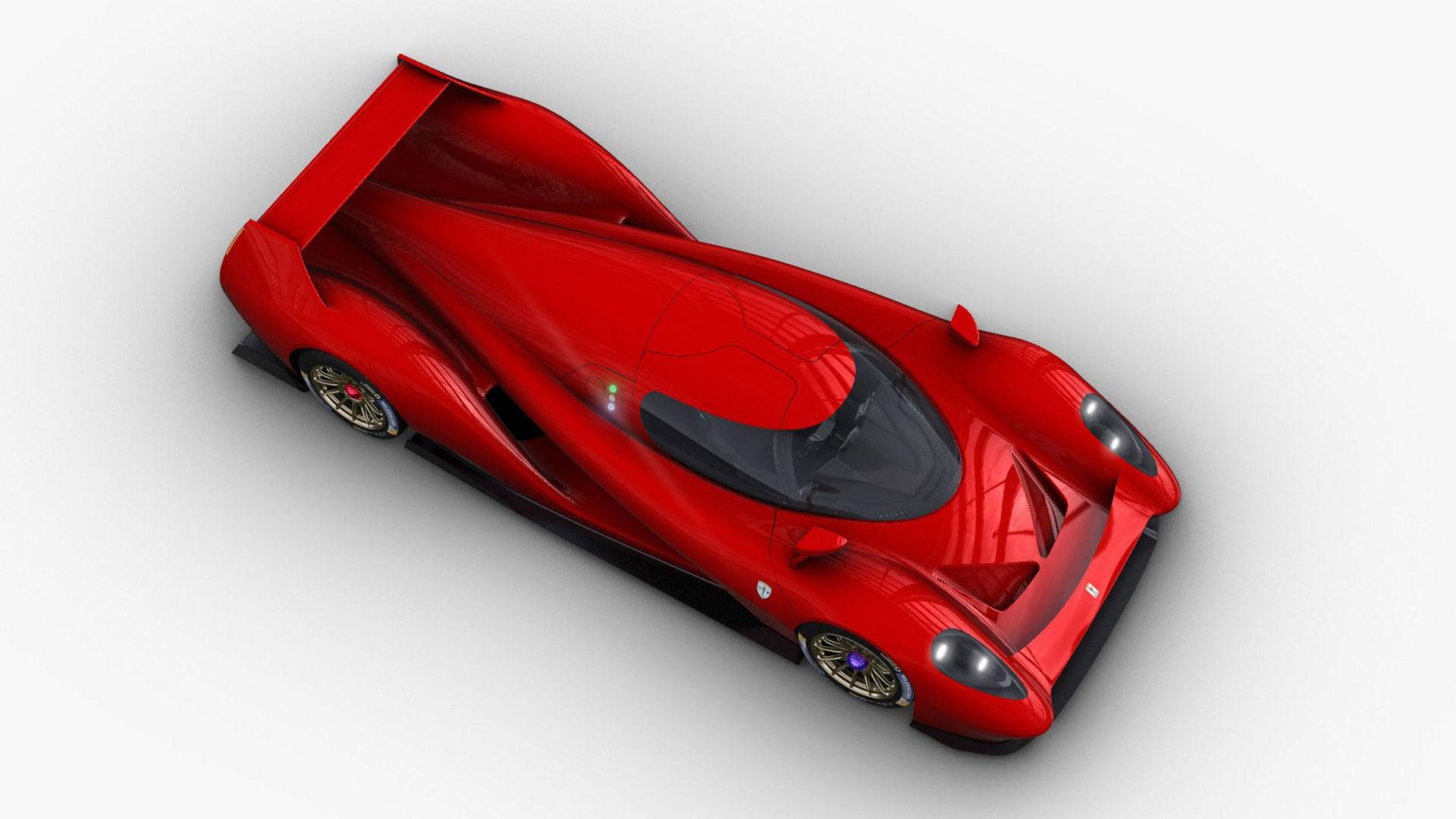 Den här vill Glickenhaus köra 24-timmars på Le Mans med