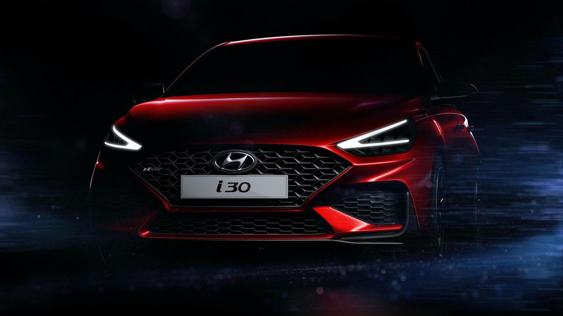 Hyundai i30 får sig en facelift