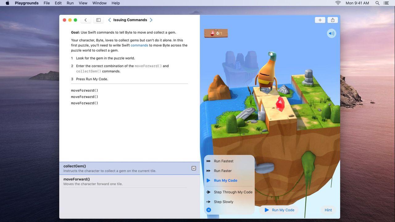 Lär dig koda med Swift Playgrounds