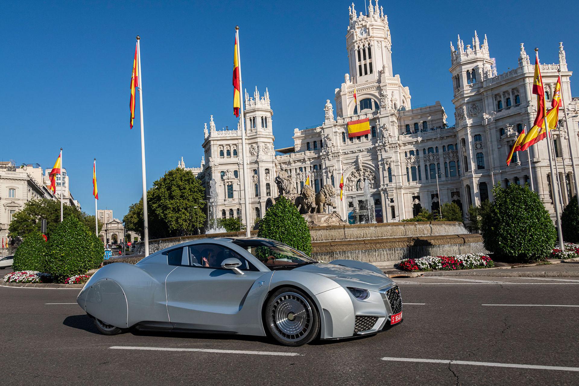 Specialversion av Hispano-Suiza Carmen till Genève